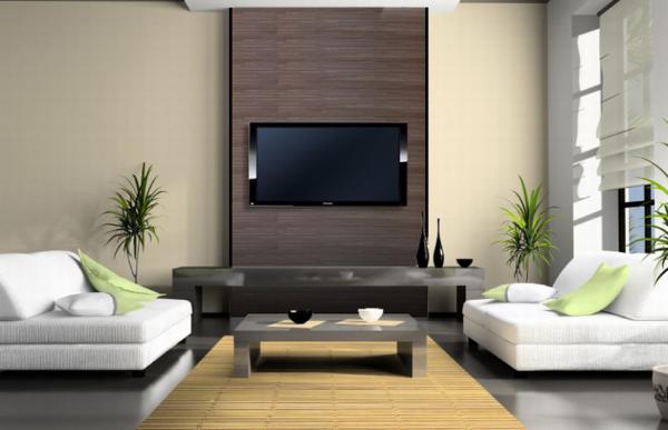 ... Wohnzimmer Einrichten Wandpaneele Tv Wand wohnzimmer tv wand ideen
